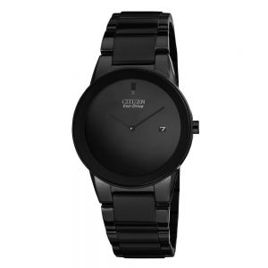 Citizen Eco-Drive Axiom Black Ion Plated Stainless Steel Gent's Watch