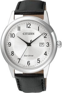 Citizen AW1231-07A Eco-Drive Gent's Elegant Leather Watch