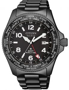 Citizen Eco-Drive Promaster Land World Time GMT Men's Watch