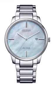 Citizen Eco-Drive Mother of Pearl Sapphire Elegant Watch
