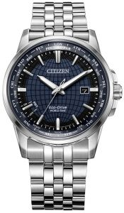 Citizen Eco-Drive World Time Sapphire Perpetual Watch