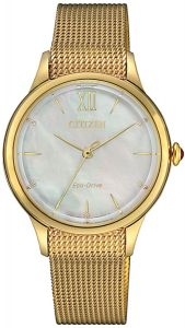 Citizen Eco Drive L Mother of Pearl Elegant Ladies Watch