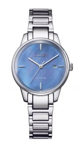 Citizen Eco-Drive Mother of Pearl Sapphire Ladies Watch