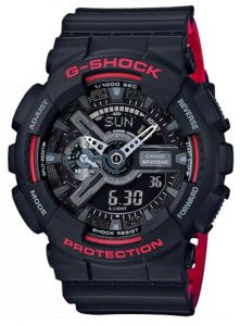 Casio G-Shock Special Color Black & Red 200m Sports Watch