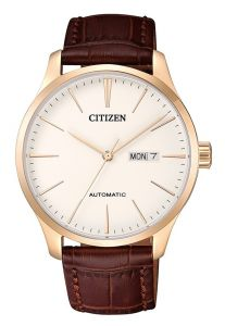 Citizen NH8353-18A Luxury Automatic 50m Leather Gents Watch