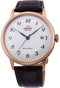 Orient Bambino II Automatic Gent's Leather Elegant Watch