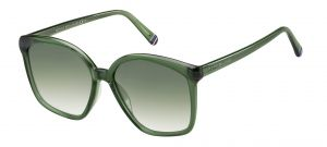 Tommy Hilfiger Green 1669/S 1ED Shaded 57mm Sunglasses