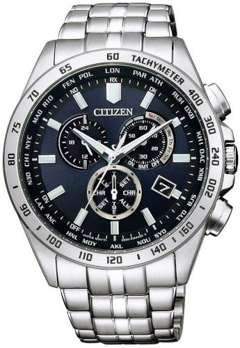Citizen Eco-Drive Radio Controlled Sapphire Chronograph Perpetual Watch