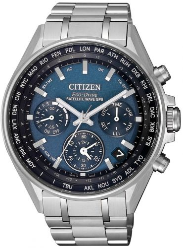 Citizen Eco-Drive Attesa F950 Satellite Wave Super Titanium Sapphire Japan Watch