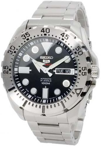 Seiko 5 Automatic 24 Jewels Men's 100m Japan Sports Watch